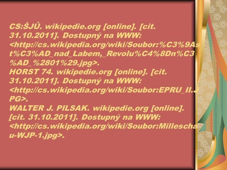 CS:ŠJŮ. wikipedie.org [online]. [cit. 31.10.2011].