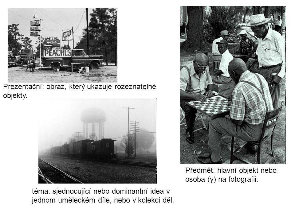 """Fotografie a obrázek také používají vizuální """"manipulace : Fokus – co je na fotce neostřejší."""