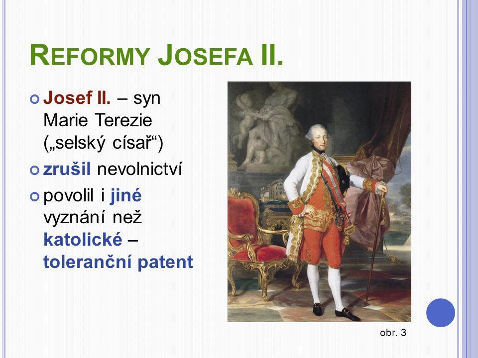 R EFORMY J OSEFA II.Josef II.