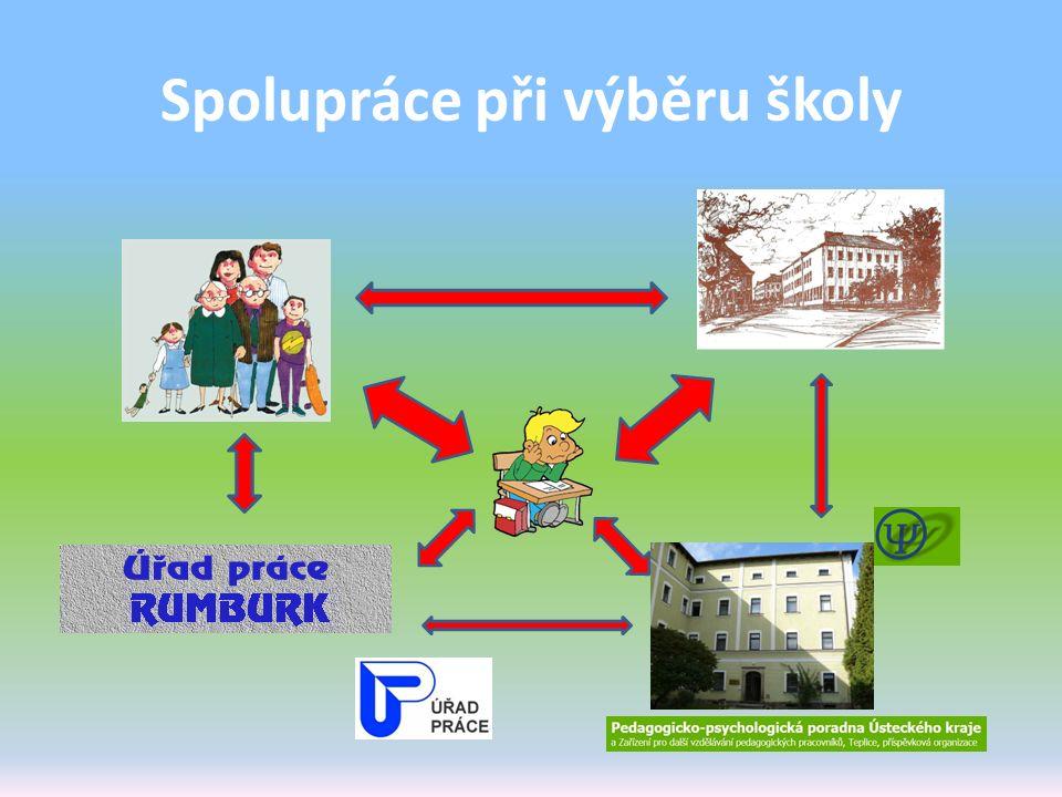 Spolupráce při výběru školy