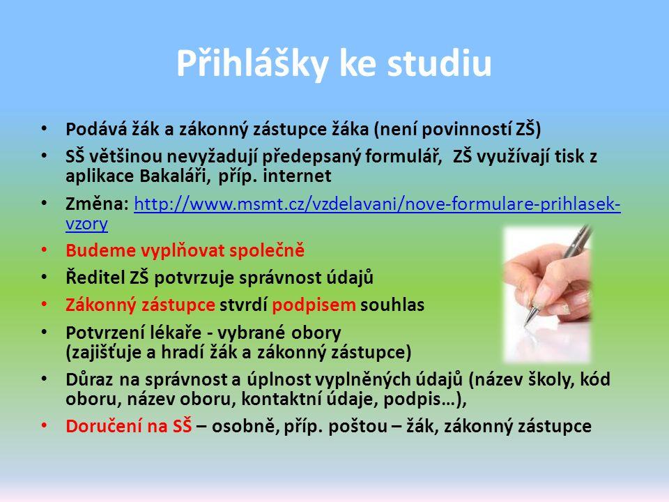 Talentové zkoušky Uchazeč, který nebyl přijat ke vzdělávání v konzervatoři nebo do oborů vzdělání s talentovou zkouškou, má i nadále možnost podat do 15.