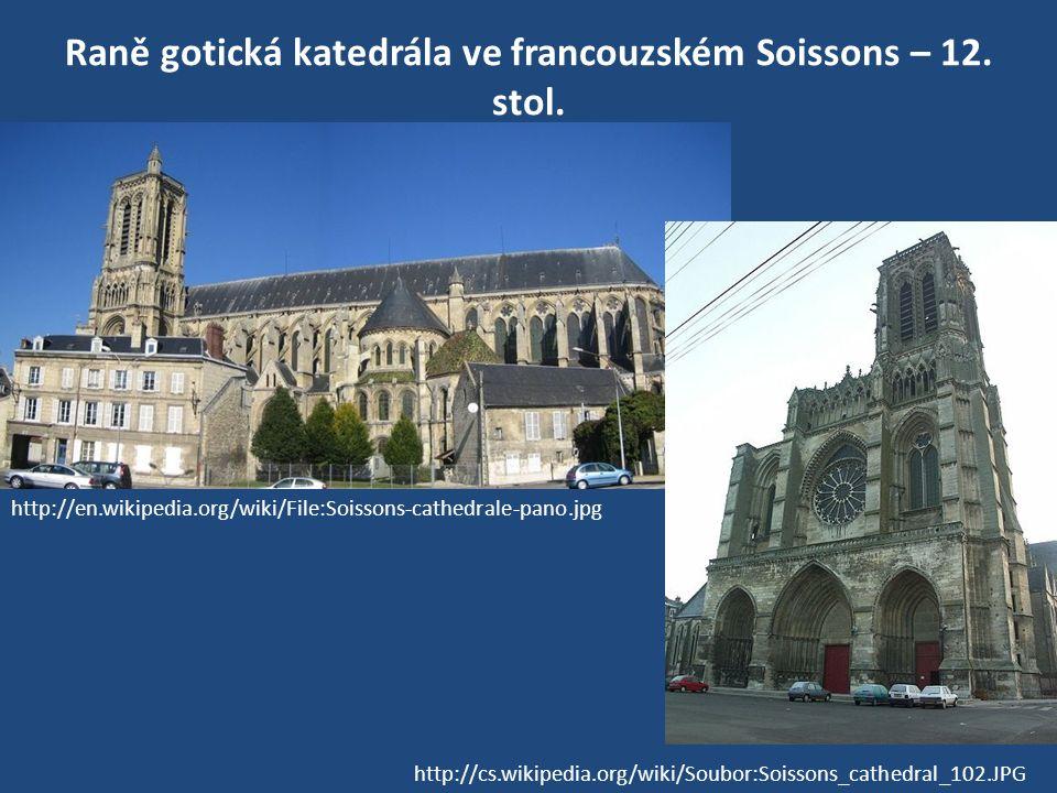 Raně gotická katedrála ve francouzském Soissons – 12.