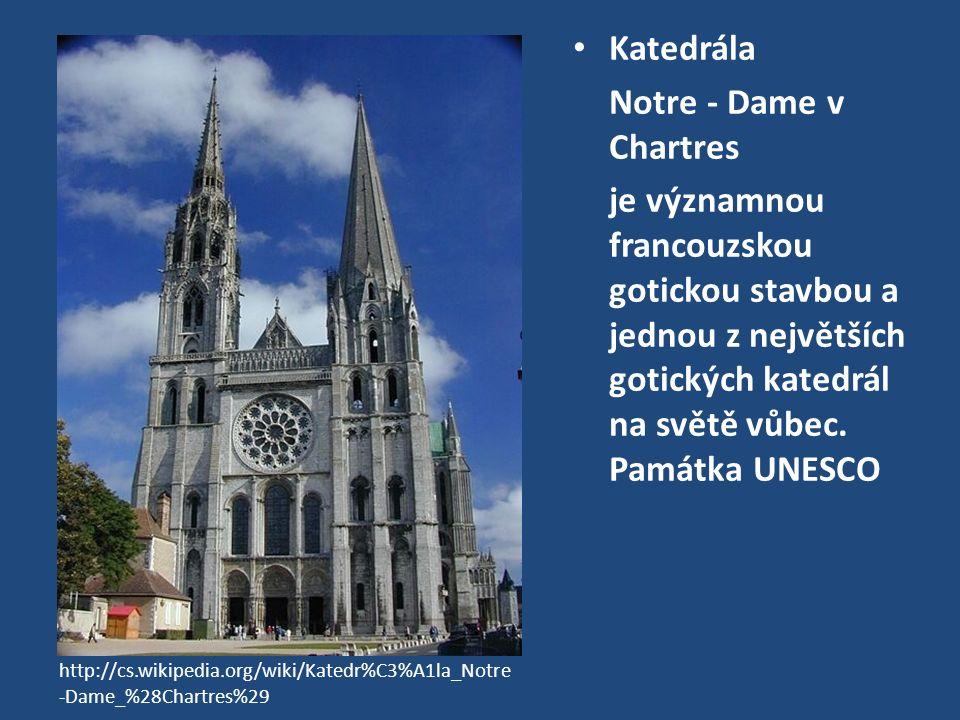 Čelní vitráž v Chartres - rozeta http://www.fotoaparat.cz/image/14368