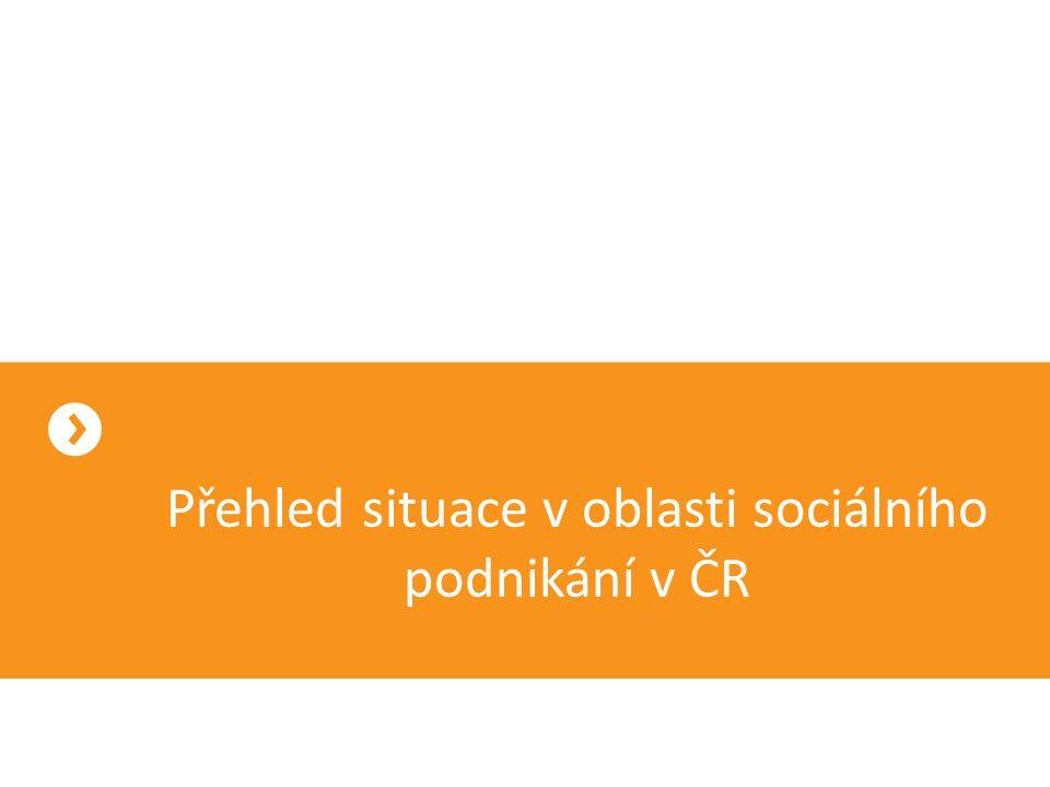 Adresář sociálních podniků www.ceske-socialni-podnikani.cz sociální podnikatelé se mohou registrovat třídění podle oboru podnikání, kraje, cílové skupiny a společenské prospěšnosti 213 sociálních podniků