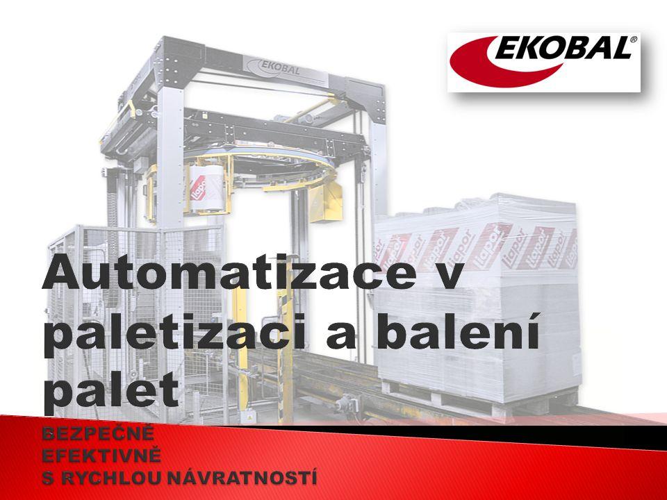 Automatické balení výrobků, je nedílná součást moderních provozů.