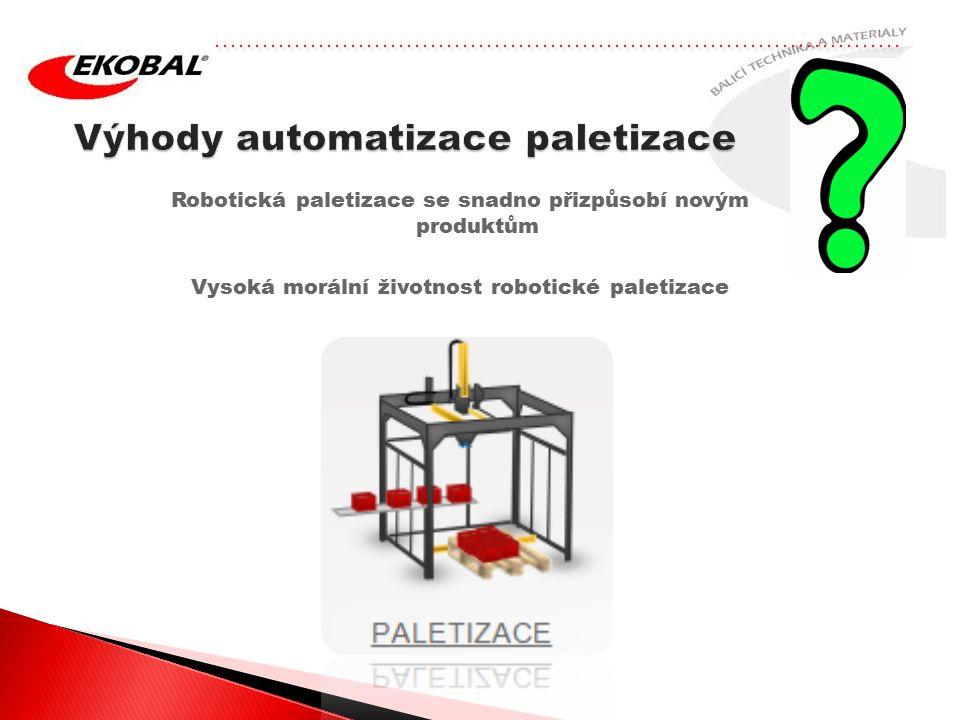 Robotická paletizace se snadno přizpůsobí novým produktům Vysoká morální životnost robotické paletizace