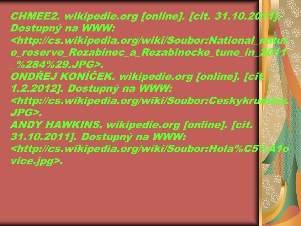 CHMEE2. wikipedie.org [online]. [cit. 31.10.2011].