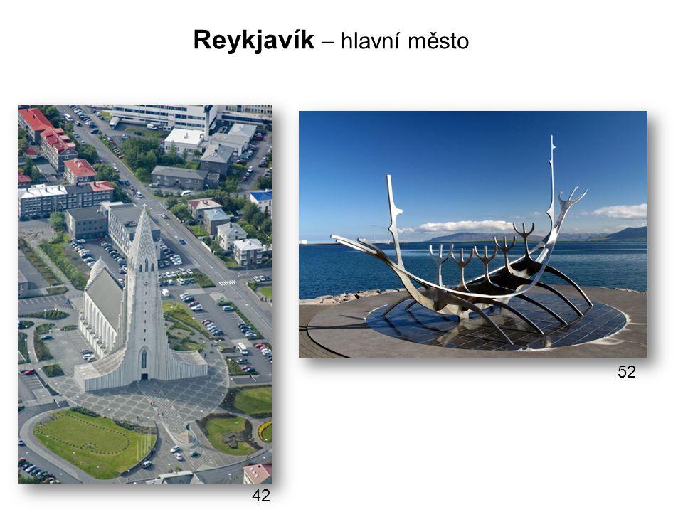 Reykjavík – hlavní město 42 52