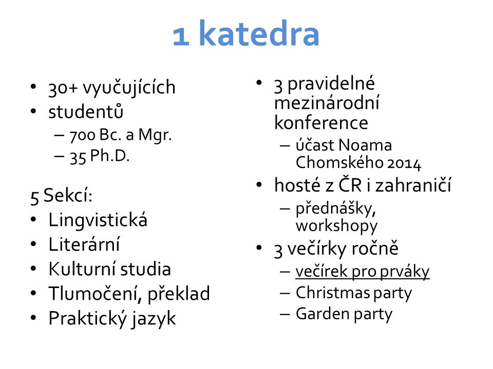 Jazyková cvičení a jazykové zkoušky