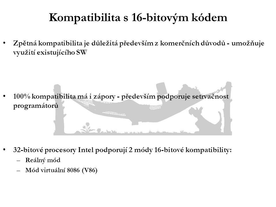 Módy kompatibility - co mají společné...