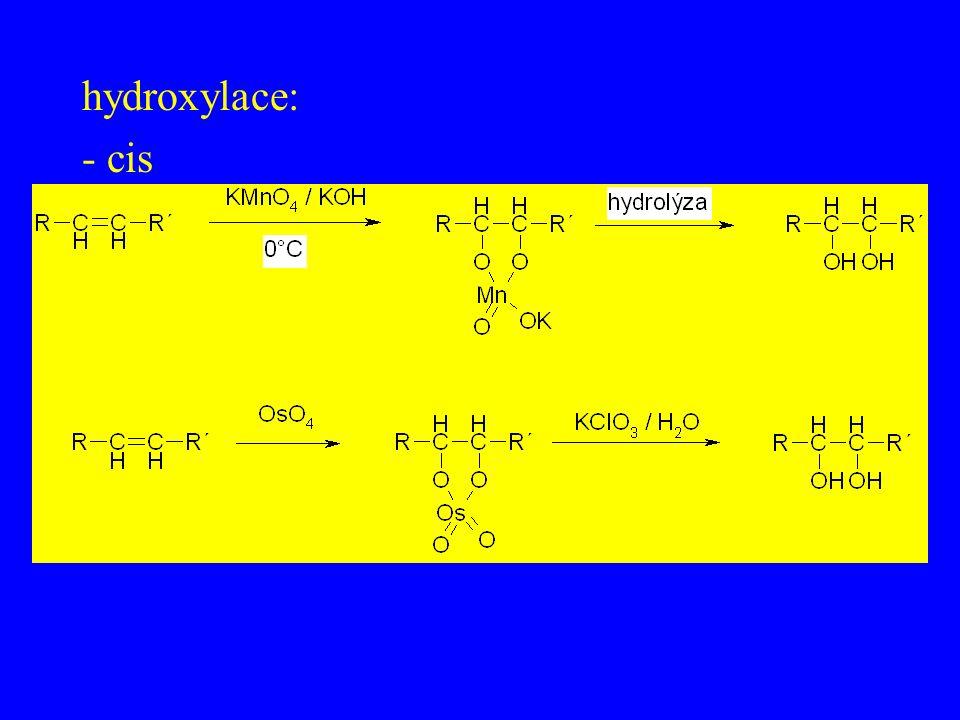 hydroxylace: - cis