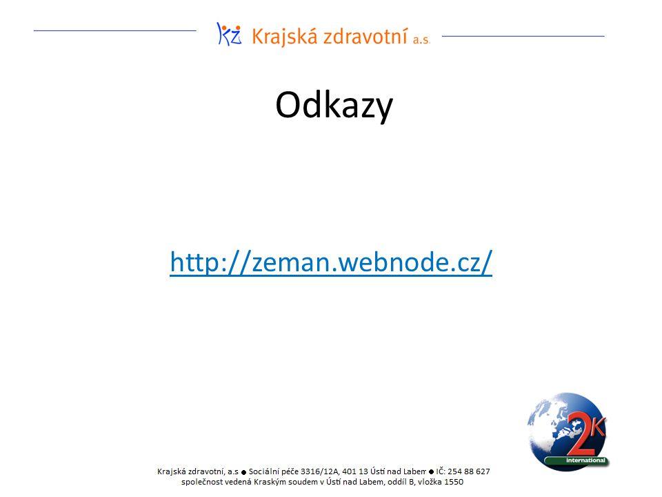 Odkazy http://zeman.webnode.cz/