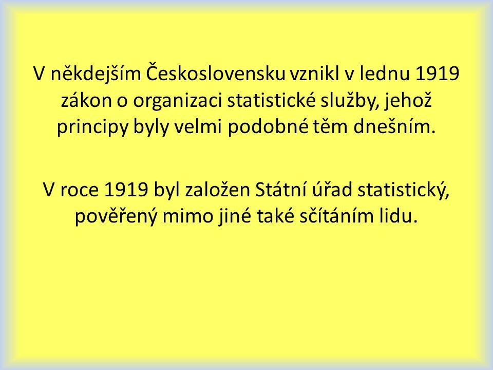 Statistická data jsou číselné údaje o společenských, technických, přírodních jevech.