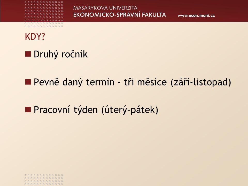 www.econ.muni.cz KDY.