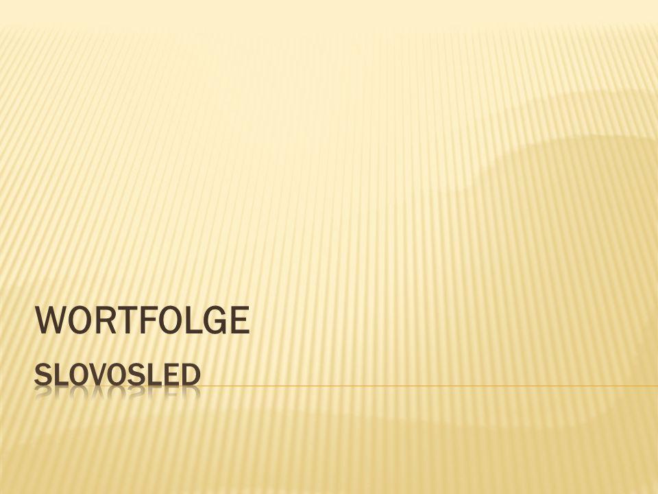 WORTFOLGE