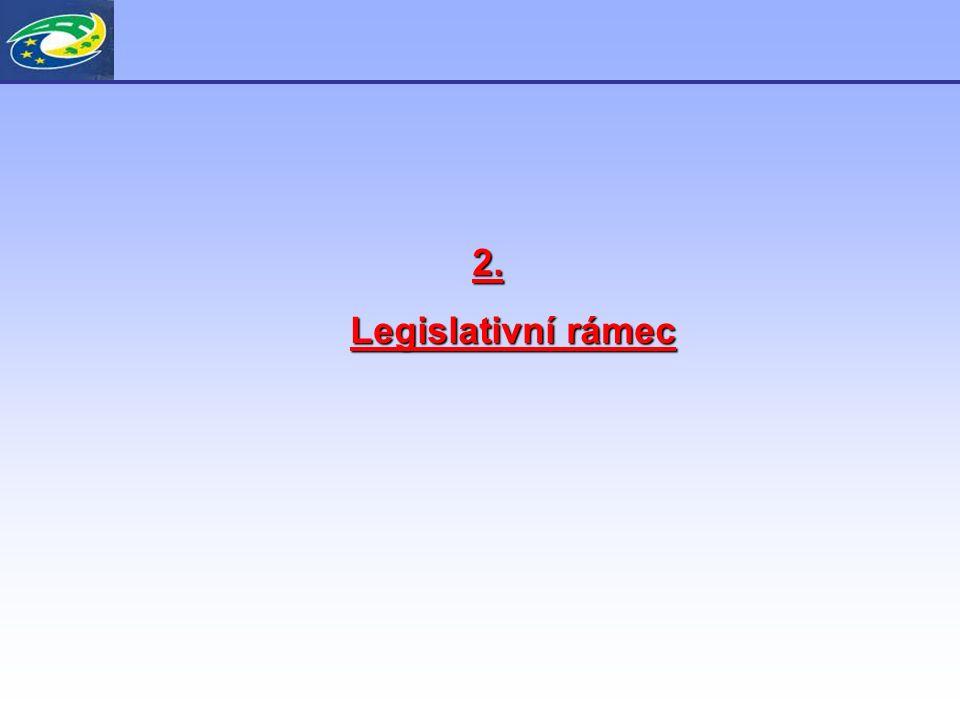 2. Legislativní rámec