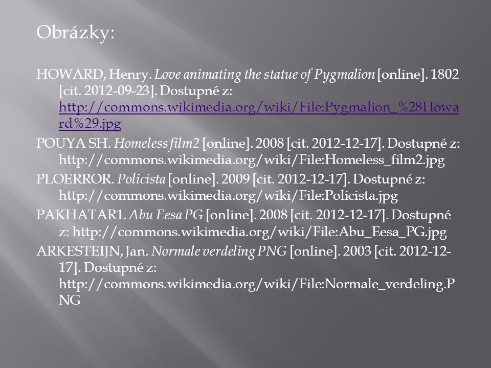 Obrázky: HOWARD, Henry.Love animating the statue of Pygmalion [online].