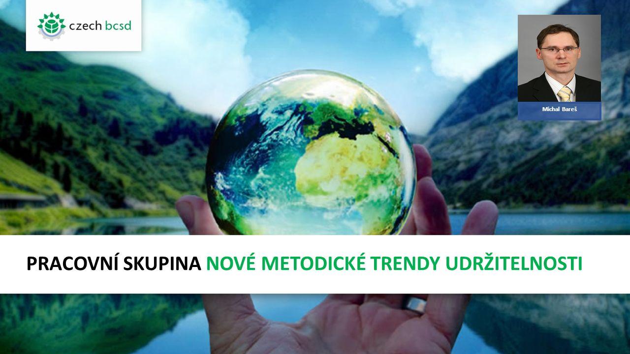 ÚVODEM Sledovat nejnovější trendy v oblasti udržitelného rozvoje.