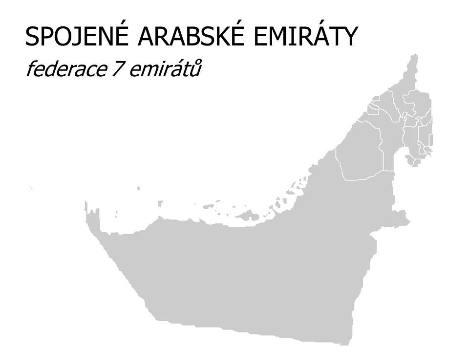 SPOJENÉ ARABSKÉ EMIRÁTY federace 7 emirátů