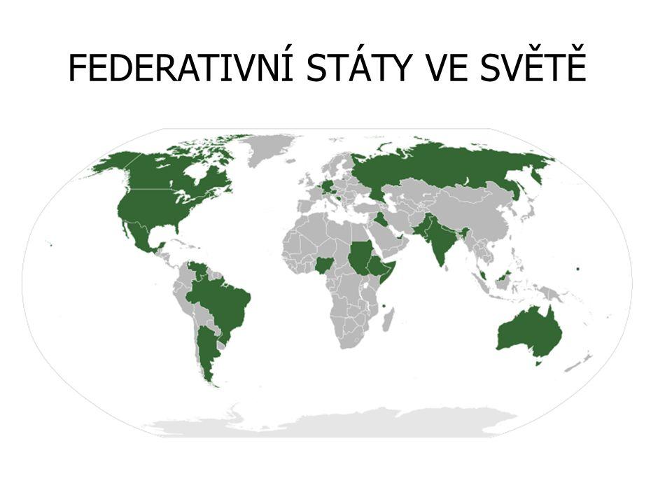 RAKOUSKO federace 9 spolkových zemí
