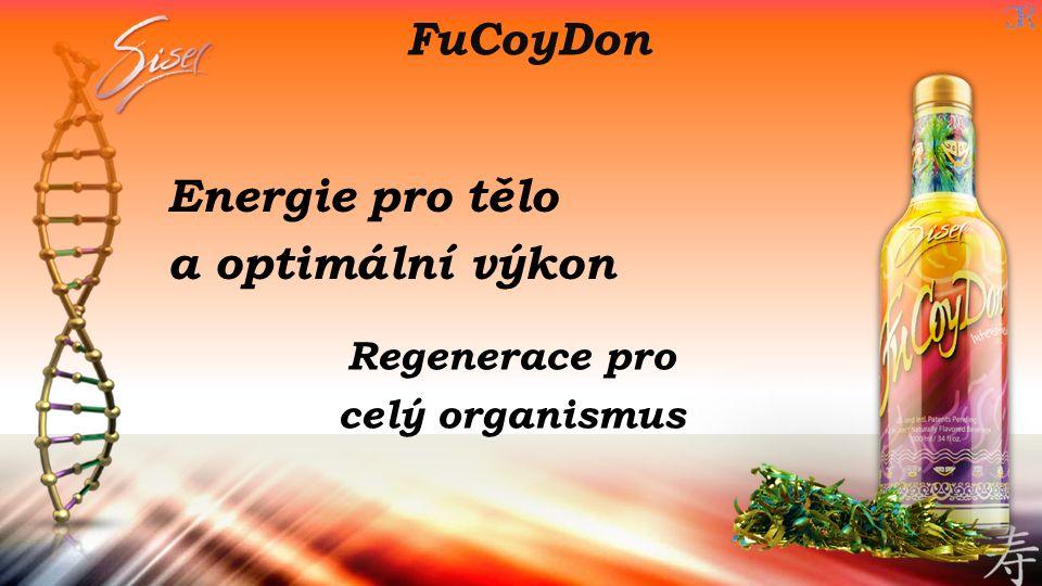 FuCoyDon Energie pro tělo a optimální výkon Regenerace pro celý organismus