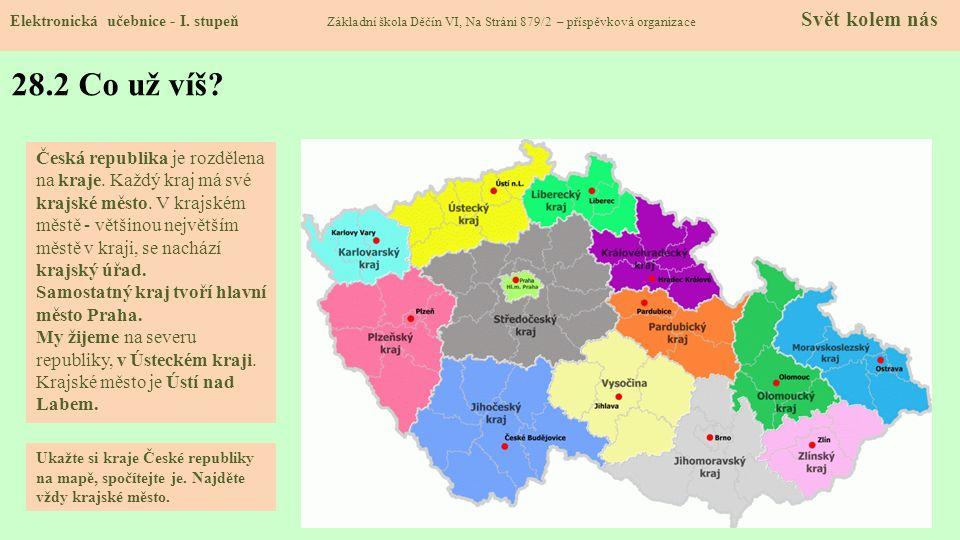 28.3 Okres Děčín Elektronická učebnice - I.