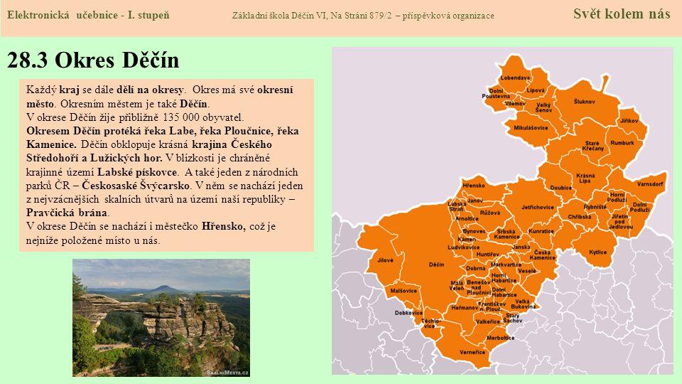 28.4 Obec Děčín Elektronická učebnice - I.