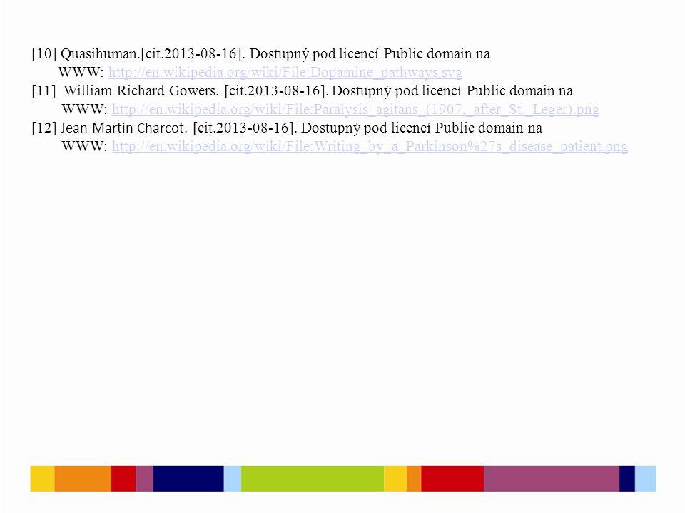 [10] Quasihuman.[cit.2013-08-16]. Dostupný pod licencí Public domain na WWW: http://en.wikipedia.org/wiki/File:Dopamine_pathways.svghttp://en.wikipedi