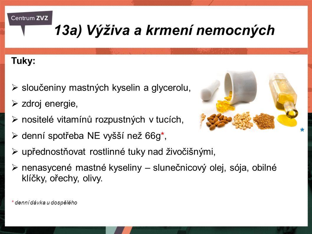 Tuky:  sloučeniny mastných kyselin a glycerolu,  zdroj energie,  nositelé vitamínů rozpustných v tucích,  denní spotřeba NE vyšší než 66g*,  upře
