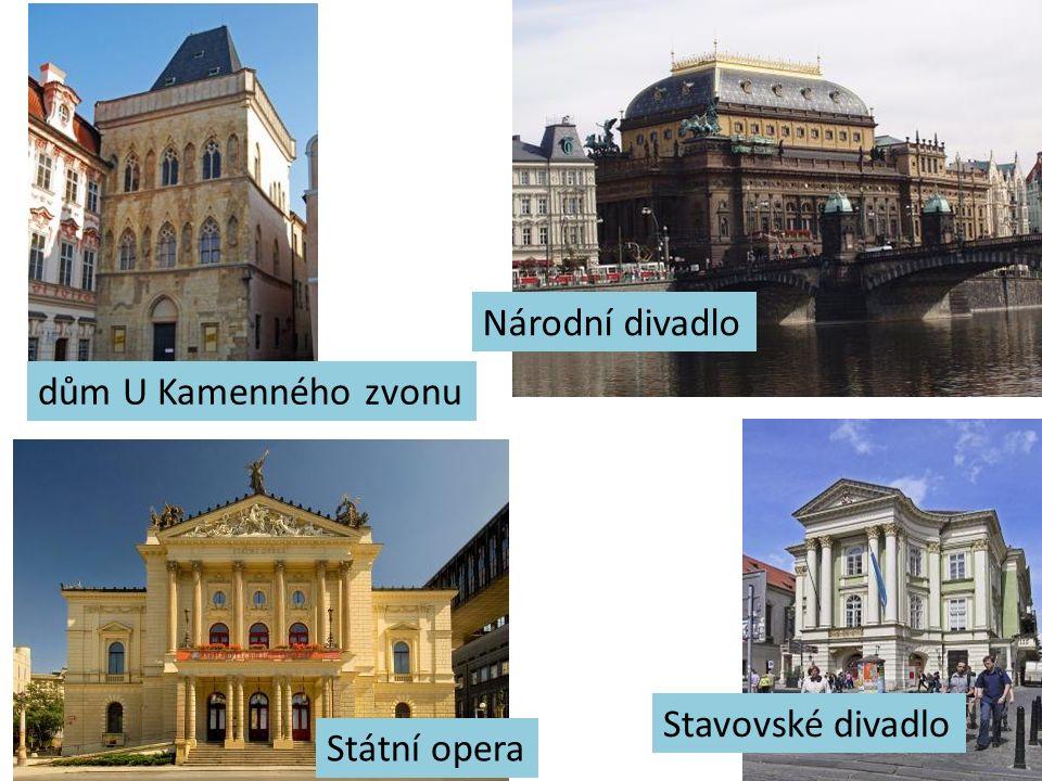 Rudolfinum kulturní centrum ČR Karel IV. založil r. 1348 první univerzitu ve střední Evropě mnoho muzeí, divadel, koncertních sálů, obrazáren i kin –