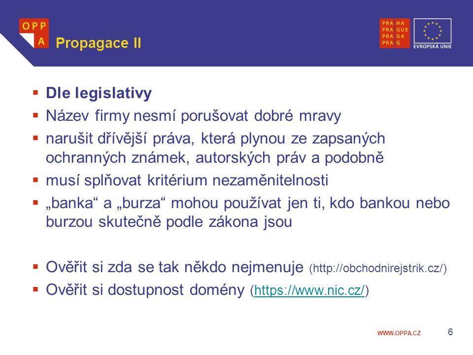 """WWW.OPPA.CZ Public relations 27 """"RegioJet hledá Superstevardy ."""