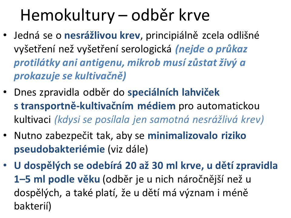 Výtěr z rány (bez anaerobní kultivace): Možné diagnostické schéma (Podle okolností se může v praxi lišit) Den 0: pouze nasazení kultivací Den 1: výsledek primokultivace vzorku na krevním agaru (KA), Endově půdě, KA s 10 % NaCl a KA s amikacinem.