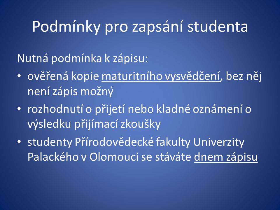 Základní informace Adresa: 17.listopadu 1192/92, 771 46 Olomouc Tel.