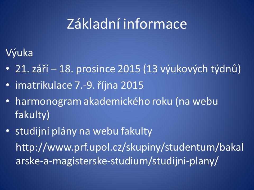 Děkan a proděkan fakulty Děkan fakulty prof.RNDr.