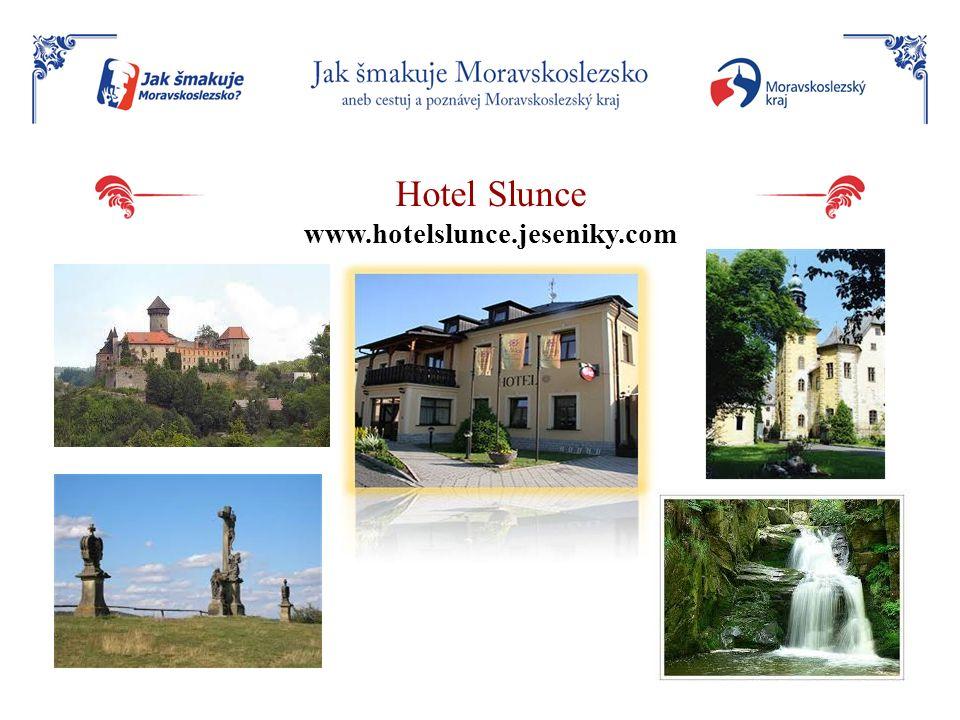 Hotel Slunce www.hotelslunce.jeseniky.com