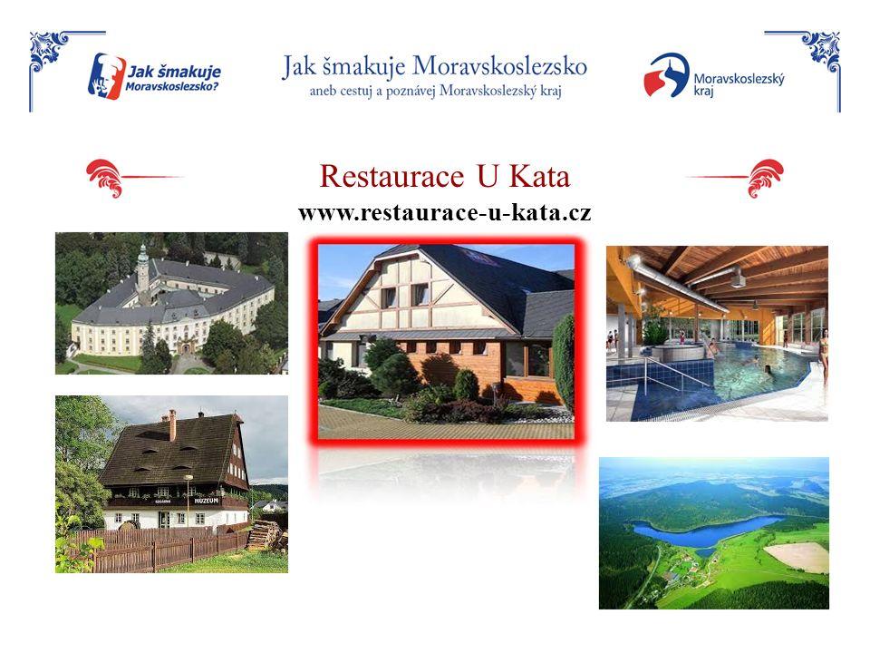 Restaurace U Kata www.restaurace-u-kata.cz