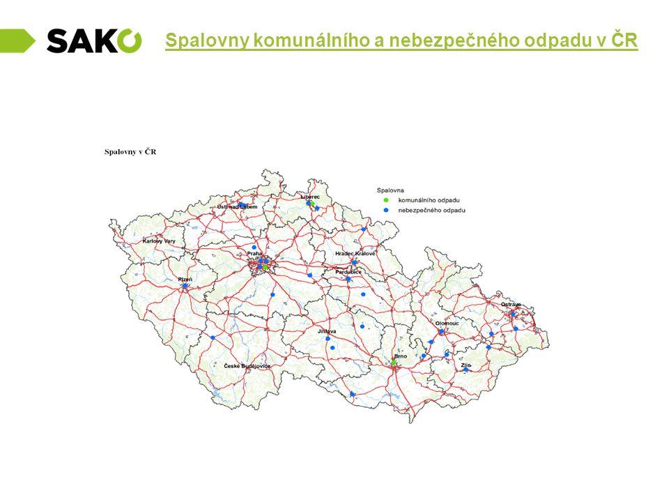 Spalovny komunálního a nebezpečného odpadu v ČR