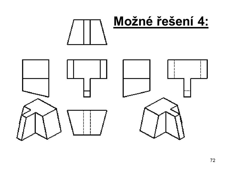 72 Možné řešení 4: