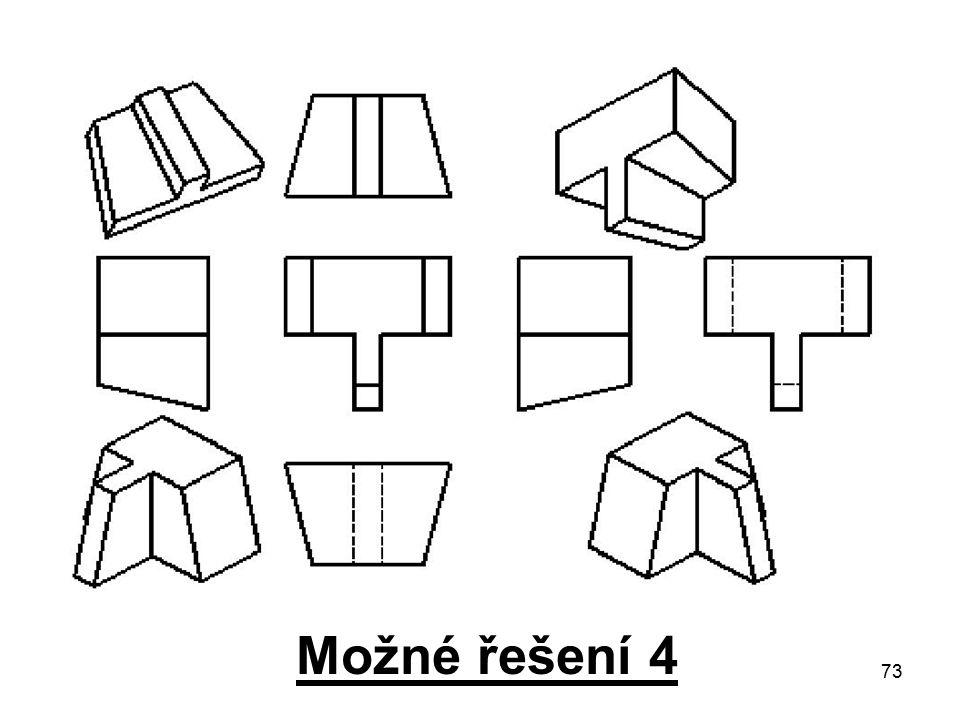 73 Možné řešení 4