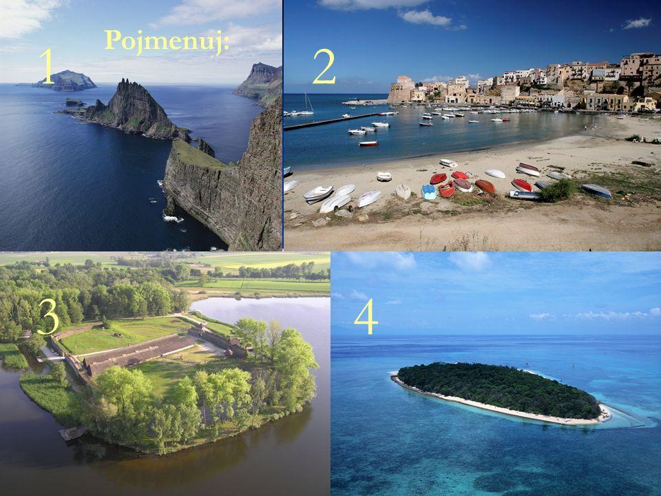 Správné řešení: 1-souostroví 1-souostroví 2-záliv 2-záliv 3-poloostrov 4-ostrov