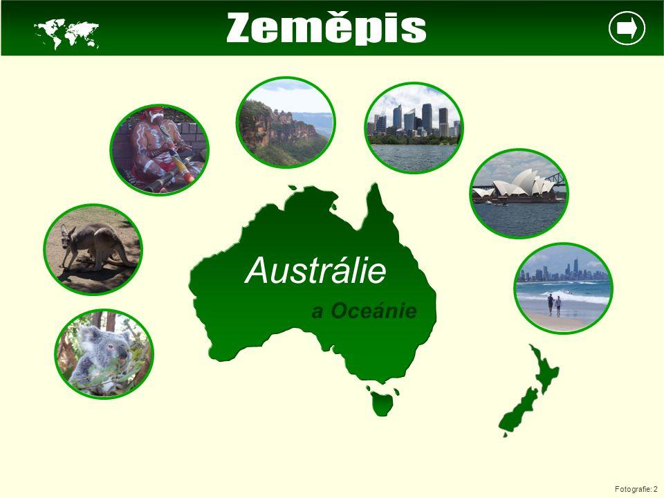  Austrálie a Oceánie Fotografie: 2