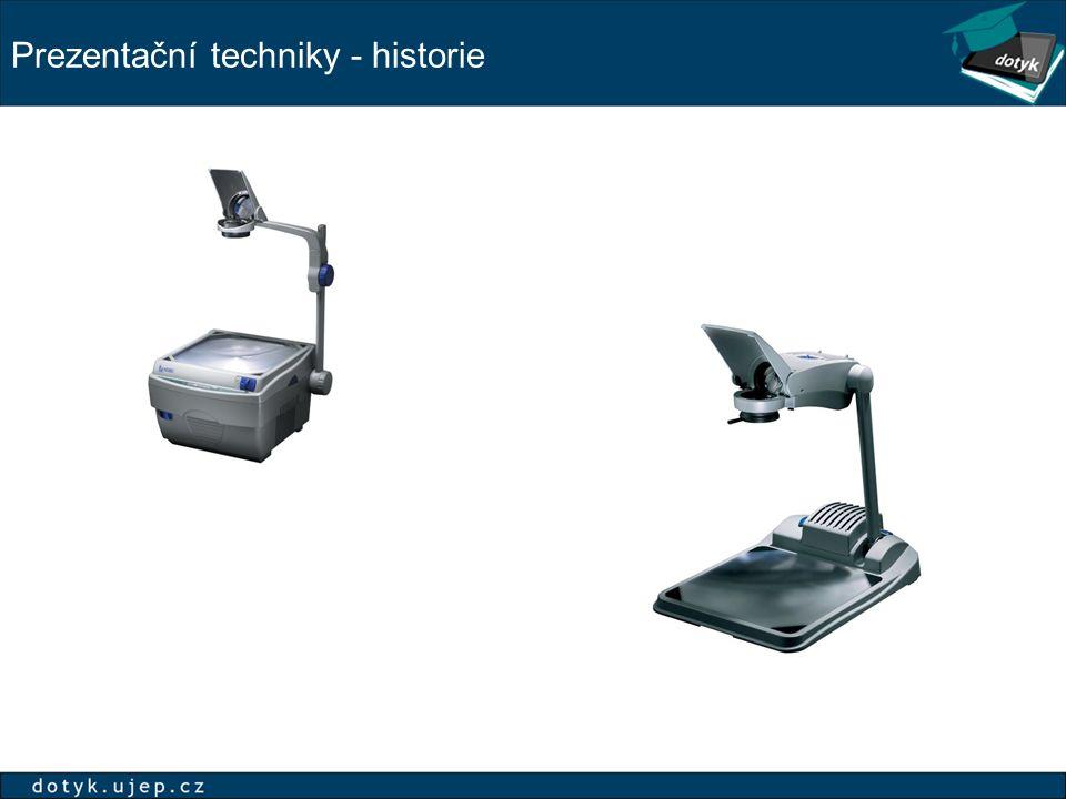Prezentační techniky - historie
