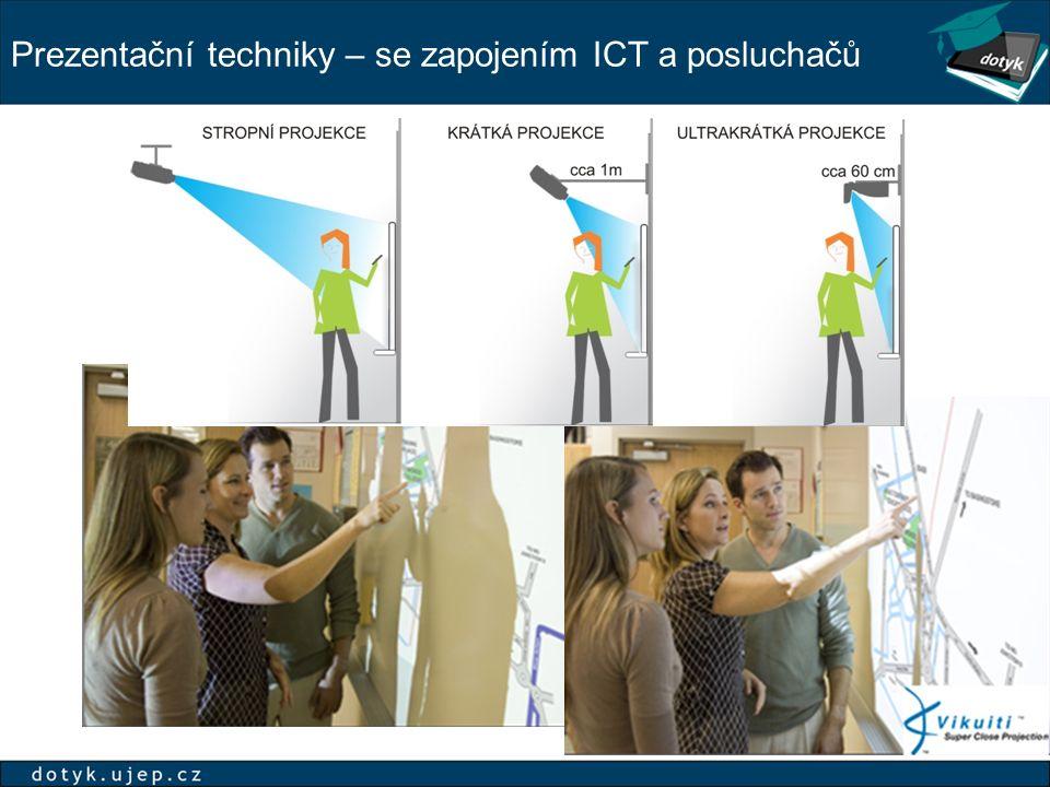 Prezentační techniky – se zapojením ICT a posluchačů
