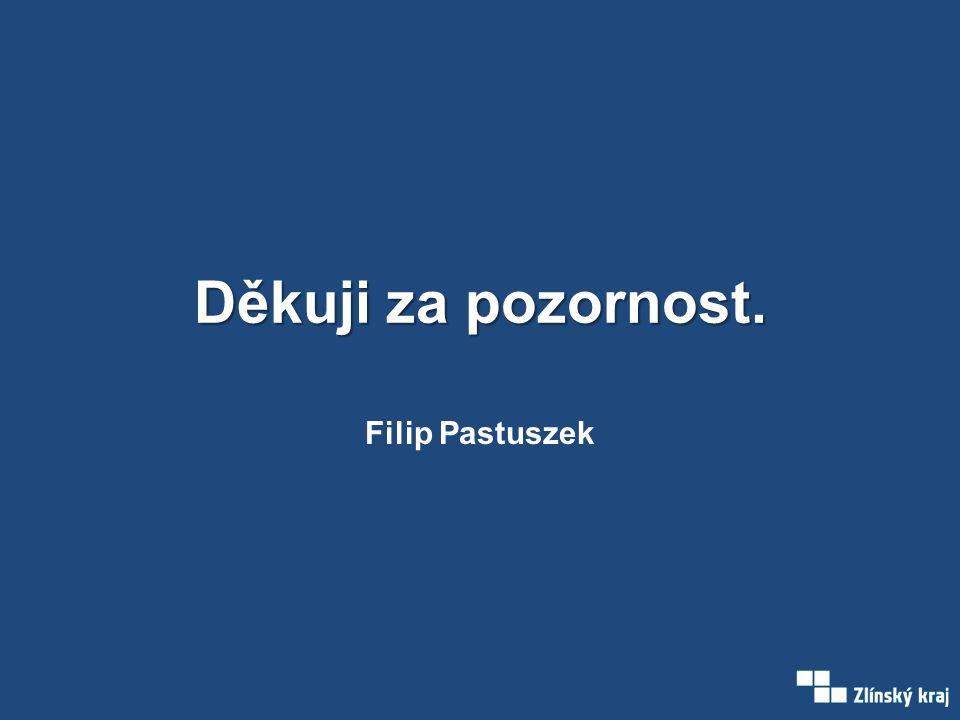 Děkuji za pozornost. Filip Pastuszek