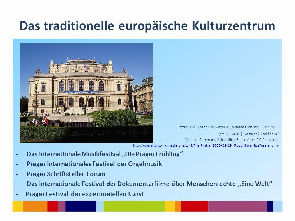 Das traditionelle europäische Kulturzentrum Patrick-Emil Zörner.