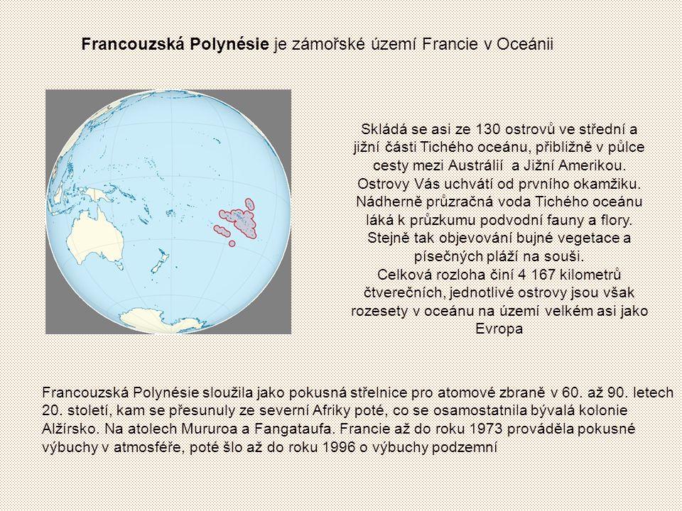 Gary vlajka Francouzské Polynésie vlajka státní znak