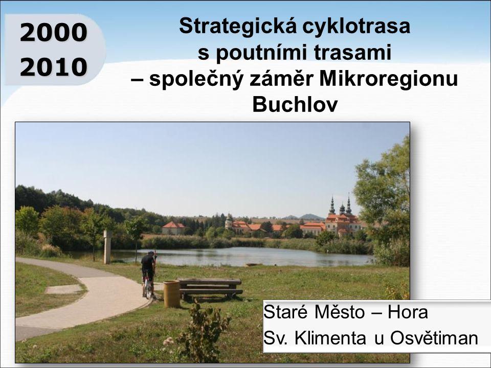 Strategická cyklotrasa s poutními trasami – společný záměr Mikroregionu Buchlov 20002010 Staré Město – Hora Sv.