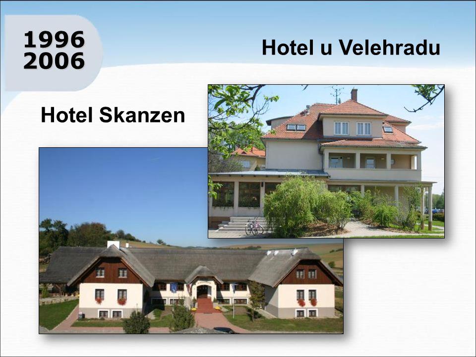 Hotel u Velehradu 1996 2006 1996 2006 Hotel Skanzen