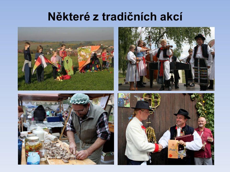 Některé z tradičních akcí
