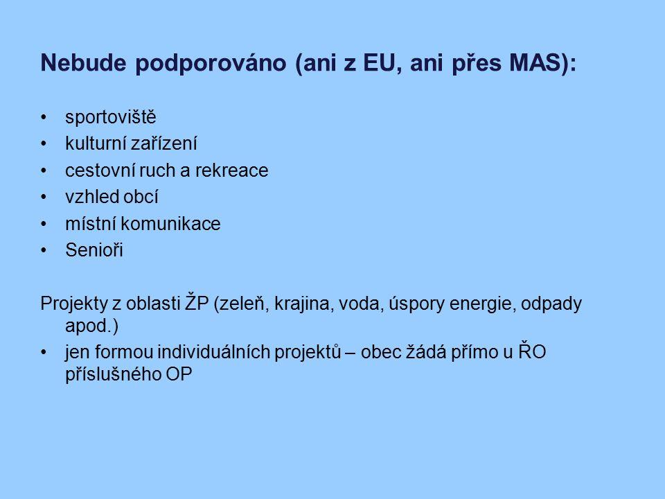 Realizace projektů – získávání dotací individuální projekty (max.